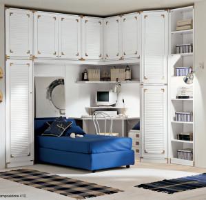 Camere da letto marina marinaresco marinaro stile for Tessuti arredo stile marina