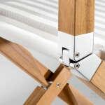 Sedie pieghevoli in legno Torino